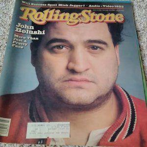 Vintage Rolling Stone Magazine - John Belushi
